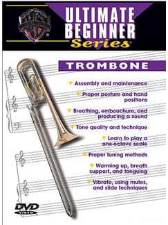 Ultimate Beginner: Trombone DVD DVDs / Videos | Trombone