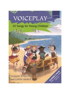 Voiceplay: 22 Songs For Young Children (Leader's Pack) Books and CDs | Melody Line, Lyrics & Chords