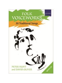Folk Voiceworks: 30 Traditional Songs Books and CDs | Voice, Piano Accompaniment