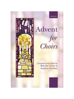 Advent For Choirs (Sprial Bound Edition) Books | SATB, Piano Accompaniment
