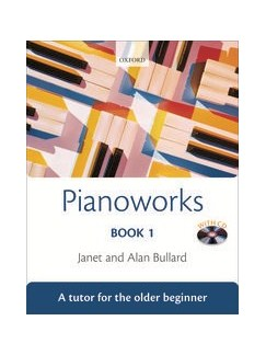 Janet And Alan Bullard: Pianoworks - Book 1 Books and CDs | Piano
