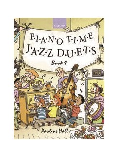 Pauline Hall: Piano Time Jazz Duets - Book 1 Bog | Klaverduet