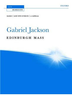 Gabriel Jackson: Edinburgh Mass Books | SATB