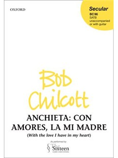 Juan De Anchieta: Con Amores, La Mi Madre Books   SATB, Guitar