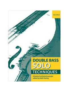 Double Bass Solo Techniques Books | Double Bass