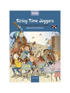 Kathy And David Blackwell: String Time Joggers (Violin Book With CD) Books and CDs | Violin