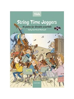 Kathy And David Blackwell: String Time Joggers (Viola Book With CD) Books and CDs | Viola