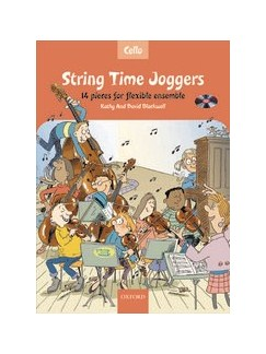 Kathy And David Blackwell: String Time Joggers (Cello Book With CD) Books and CDs | Cello