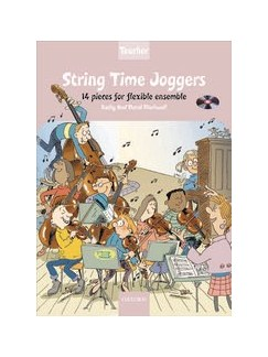 Kathy And David Blackwell: String Time Joggers (Teachers Pack With CD) Books and CDs | Ensemble
