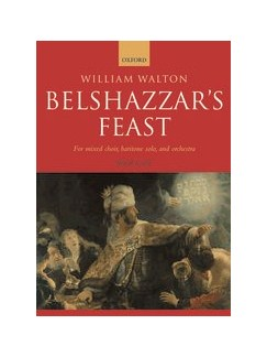 William Walton: Belshazzar's Feast (Vocal Score) Books | Baritone Soloist, SATB Choir, Piano Accompaniment