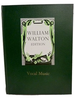 William Walton: Vocal Music (Hardback) Books | Voice, Piano Accompaniment