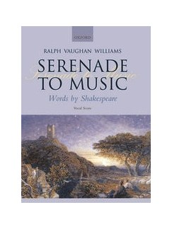 Ralph Vaughan Williams: Serenade To Music Books | SATB, Piano Accompaniment