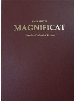 John Rutter: Magnificat  - Chamber Version (Full Score) Books | Soprano, Mezzo-Soprano, SATB, Chamber Group