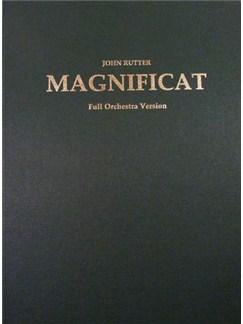 John Rutter: Magnificat  - Orchestral Version (Full Score) Books | Soprano, Mezzo-Soprano, SATB, Orchestra