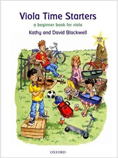 Kathy Blackwell/David Blackwell: Viola Time Starters Books and CDs | Viola