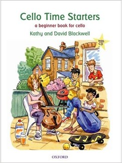 Kathy Blackwell/David Blackwell: Cello Time Starters Books and CDs | Cello