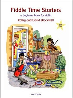 Kathy Blackwell/David Blackwell: Fiddle Time Starters (Updated Edition) Books and CDs | Violin