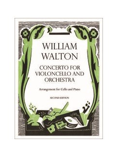 William Walton: Cello Concerto - Cello/Piano Reduction (Second Edition) Books | Cello, Piano Accompaniment