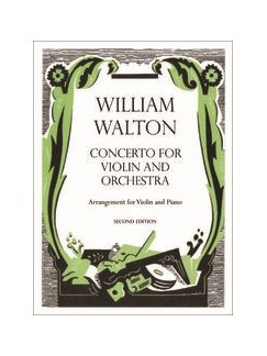 William Walton: Violin Concerto - Violin/Piano Reduction (Second Edition) Books | Violin, Piano Accompaniment