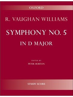 Ralph Vaughan Williams: Symphony No.5 In D Major - Study Score Books | Orchestra