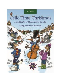 Cello Time Christmas - Book/CD Books and CDs | Cello
