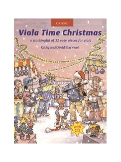 Viola Time Christmas - Book/CD Books and CDs | Viola