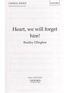Bradley Ellingboe: Heart, We Will Forget Him! Books | SATB, Cello