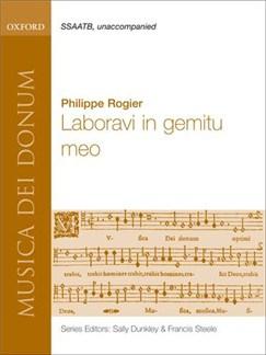 Philippe Rogier: Laboravi In Gemitu Meo Books | SSAATB