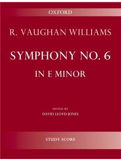 Ralph Vaughan Williams: Symphony No.6 In E Minor - Second Edition (Study Score) Books | Orchestra