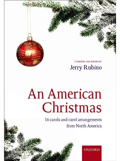Jerry Rubino: An American Christmas Books | SATB, Piano Accompaniment