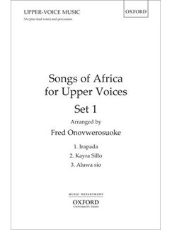 Songs Of Africa For Upper Voices - Set 1 Books | 2-Part Choir