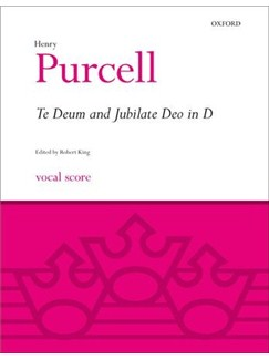Henry Purcell: Te Deum And Jubilate In D Books | SATB, Organ Accompaniment
