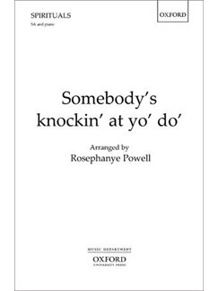 Somebody's Knokin' At Yo' Do' Books | Soprano, Alto, Piano