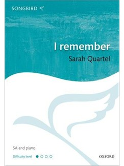 Sarah Quartel: I Remember Books | 2-Part Choir, Piano Accompaniment