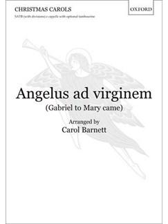 Carol Barnett: Angelus Ad Virginem (Gabriel To Mary Came) Books   SATB, Percussion