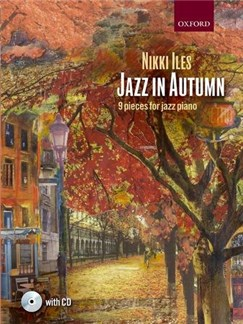 Nikki Iles: Jazz In Autumn (Book/CD) Books and CDs | Piano