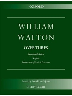 William Walton: Overtures Books | Orchestra