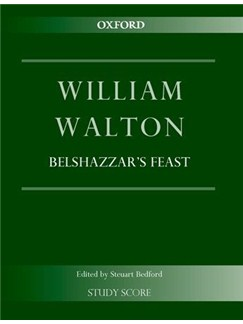 William Walton: Belshazzar's Feast Books | Baritone Voice, SATB, Orchestra