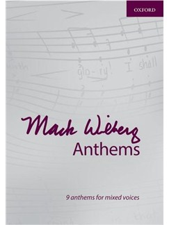 Mack Wilberg Anthems: 9 Anthems For Mixed Voices Books | SATB, Organ Accompaniment, Orchestra