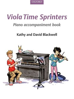 Kathy Blackwell/David Blackwell: Viola Time Sprinters - Piano Accompaniment Book Books | Piano Accompaniment