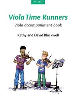 Kathy Blackwell/David Blackwell: Viola Time Runners - Viola Accompaniment Book Books | Viola