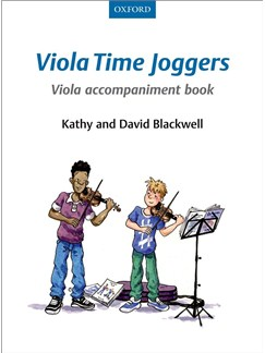 Kathy Blackwell/David Blackwell: Viola Time Joggers - Viola Accompaniment Book Books | Viola