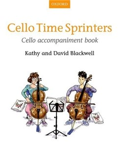 Cello Time Sprinters: Cello Accompaniment Book Books | Cello (Duet)