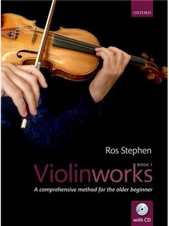 Ros Stephen: Violinworks Book 1 (Book/CD) Books and CDs | Violin