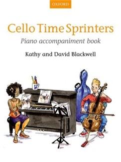 Kathy/David Blackwell: Cello Time Sprinters - Piano Accompaniment Book Books | Piano Accompaniment
