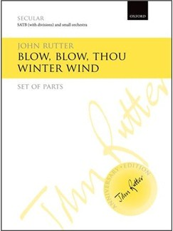 John Rutter: Blow, Blow, Thou Winter Wind (Instrumental Parts) Books | Orchestra