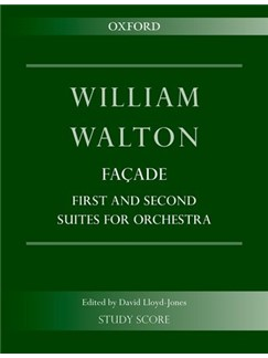 William Walton: Façade, First And Second Suites For Orchestra Books | Orchestra