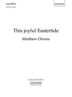 Matthew Owens: This Joyful Eastertide Books | SATB, Organ Accompaniment