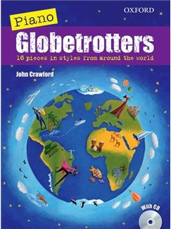 John Crawford: Piano Globetrotters (Book/CD) Books and CDs | Piano