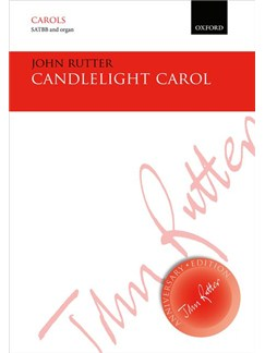 John Rutter: Candlelight Carol Books | SATB, Organ Accompaniment
